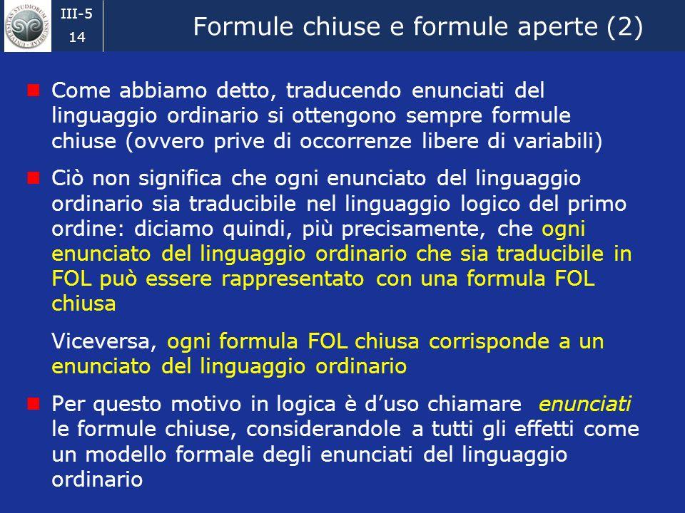 Formule chiuse e formule aperte (2)