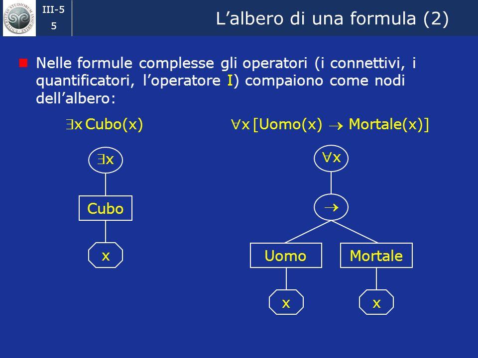 L'albero di una formula (2)