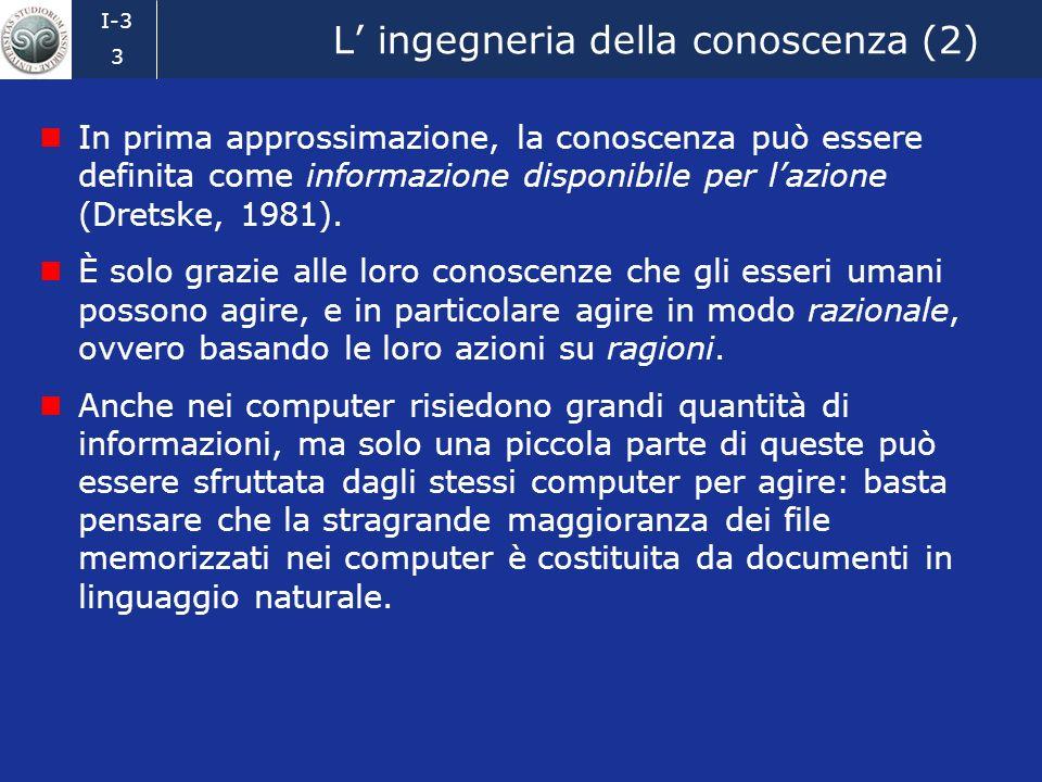 L' ingegneria della conoscenza (2)