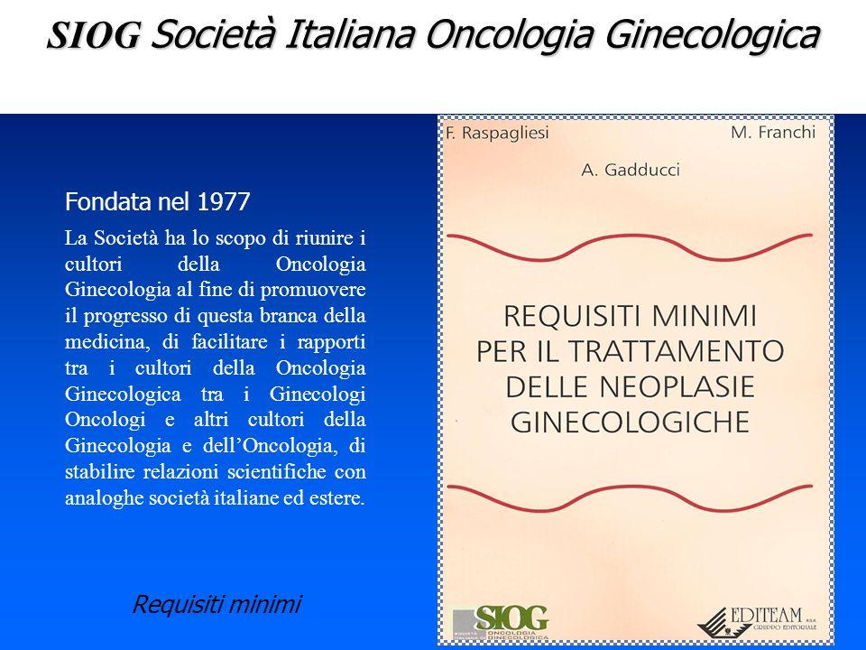 SIOG Società Italiana Oncologia Ginecologica