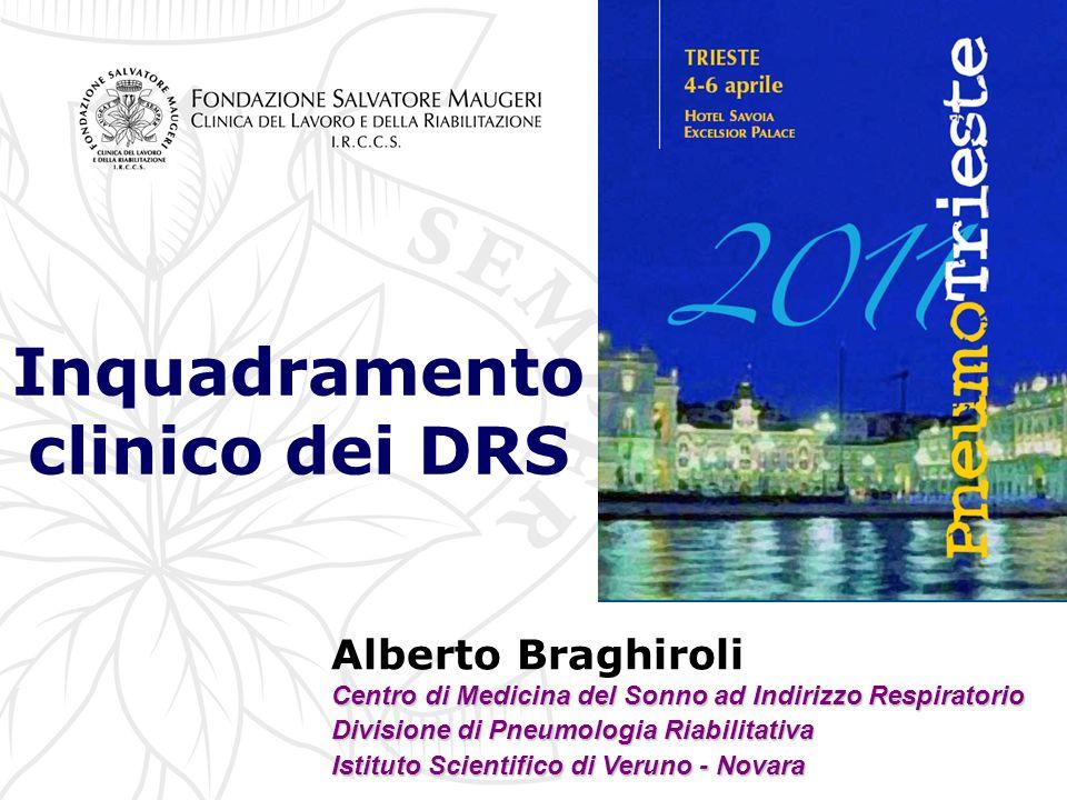 Inquadramento clinico dei DRS