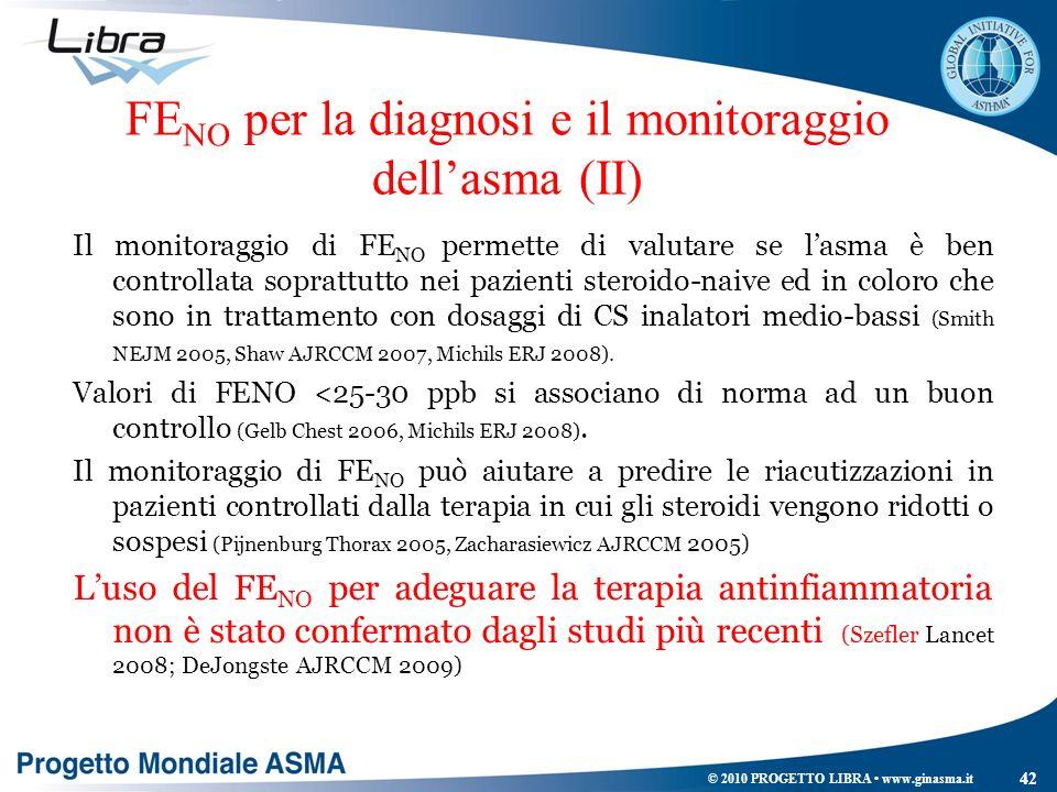 FENO per la diagnosi e il monitoraggio dell'asma (II)