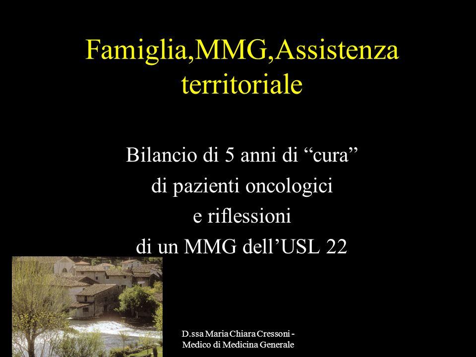 Famiglia,MMG,Assistenza territoriale