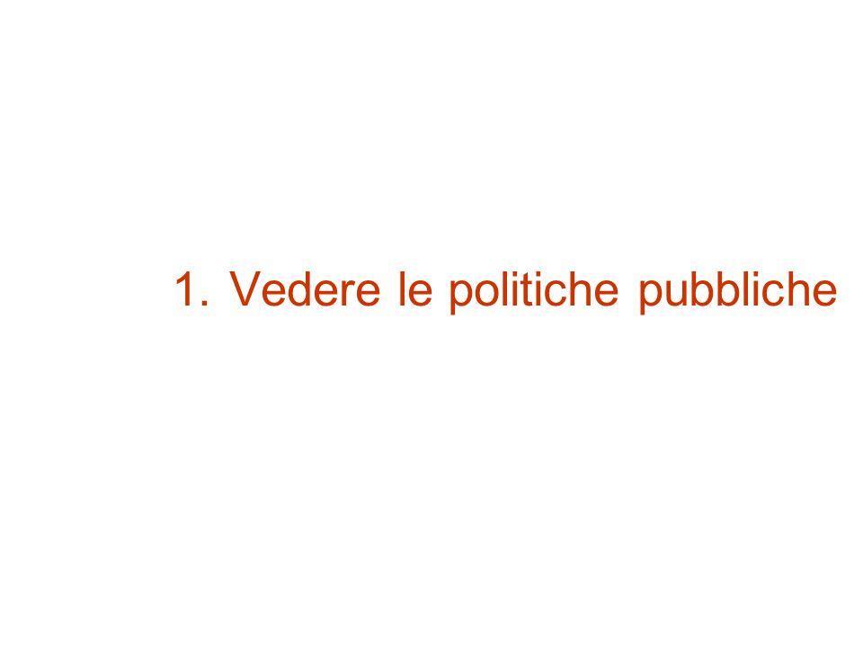 Vedere le politiche pubbliche