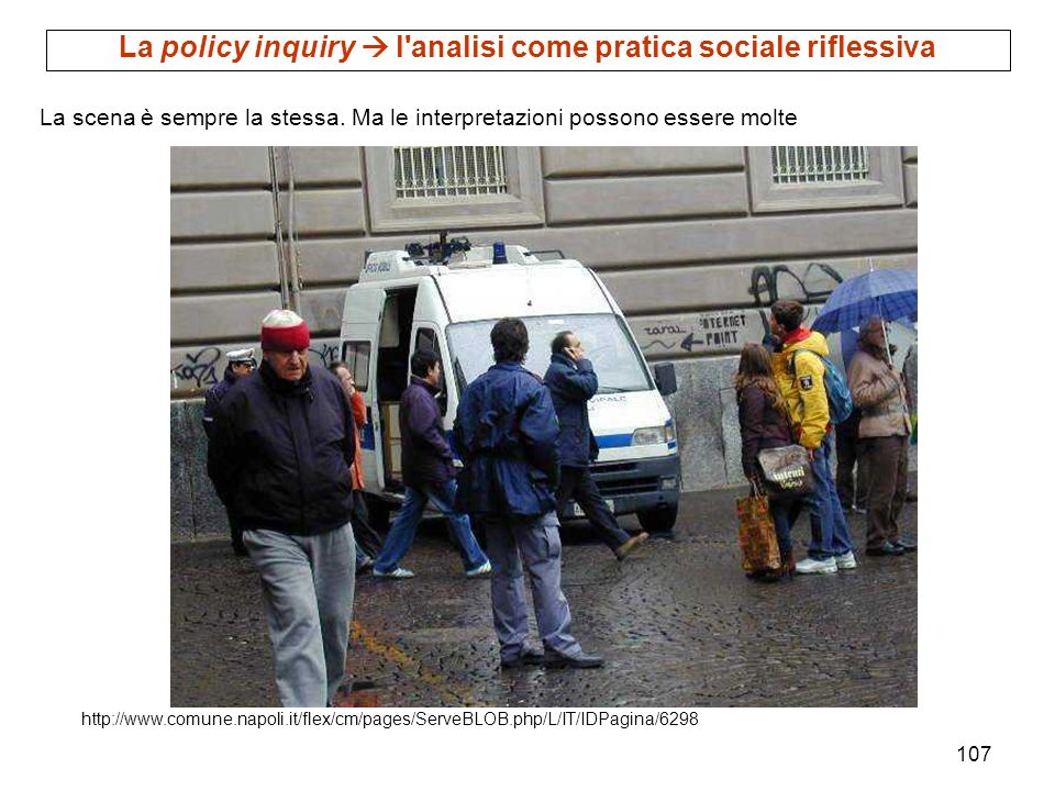 La policy inquiry  l analisi come pratica sociale riflessiva