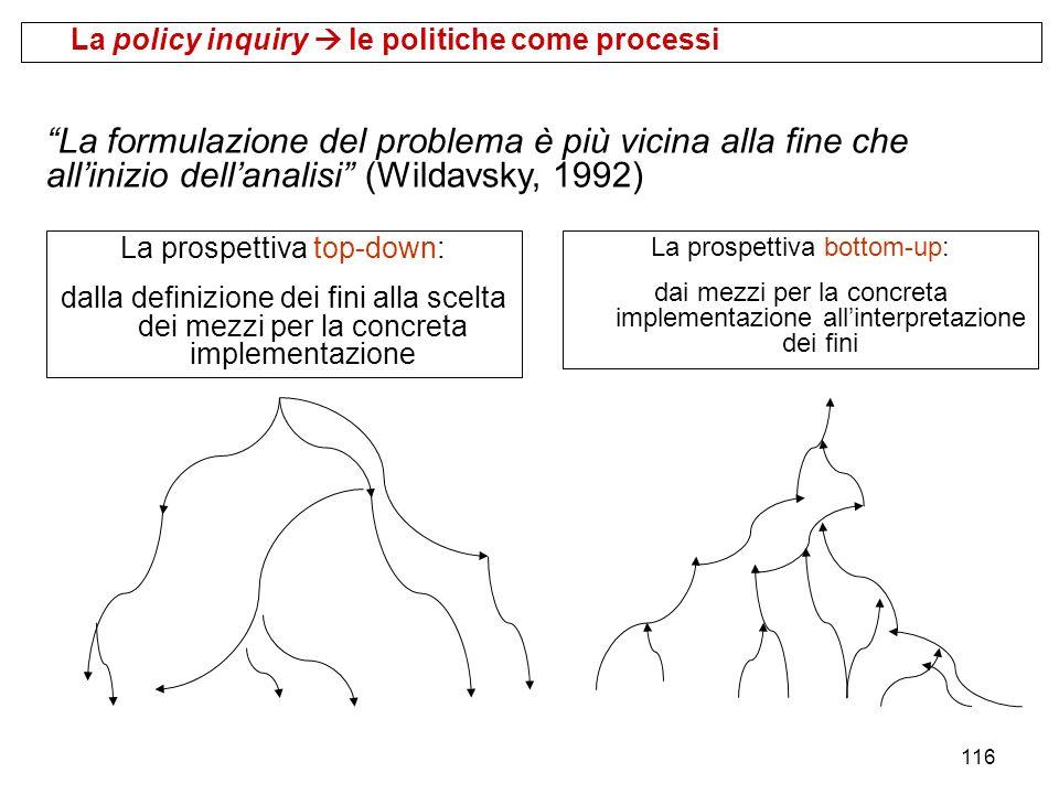 La policy inquiry  le politiche come processi