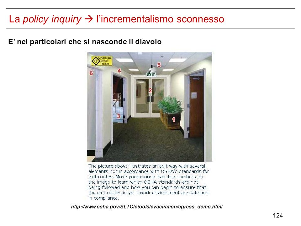 La policy inquiry  l'incrementalismo sconnesso