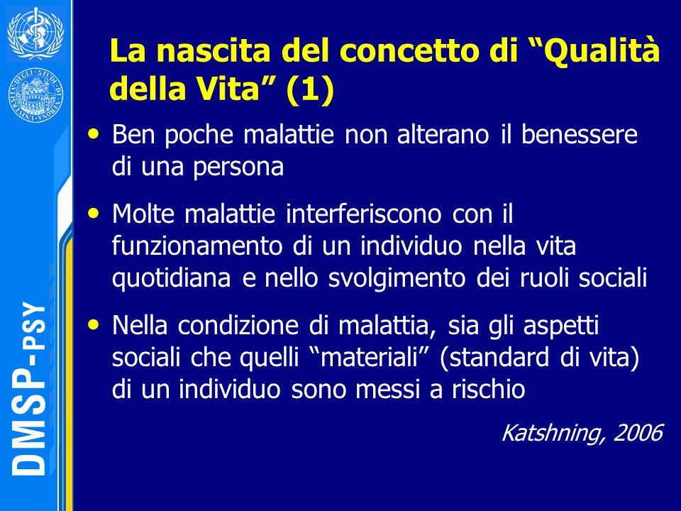 La nascita del concetto di Qualità della Vita (1)