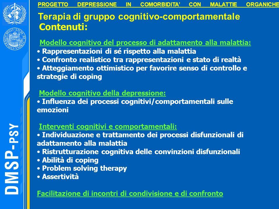 Modello cognitivo del processo di adattamento alla malattia: