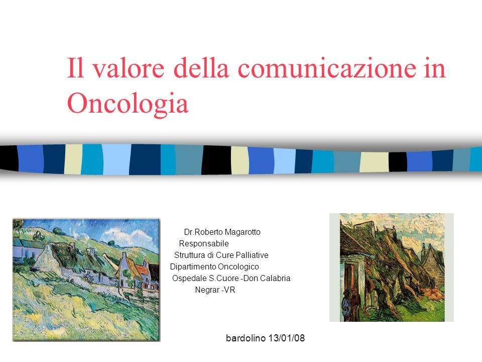 Il valore della comunicazione in Oncologia