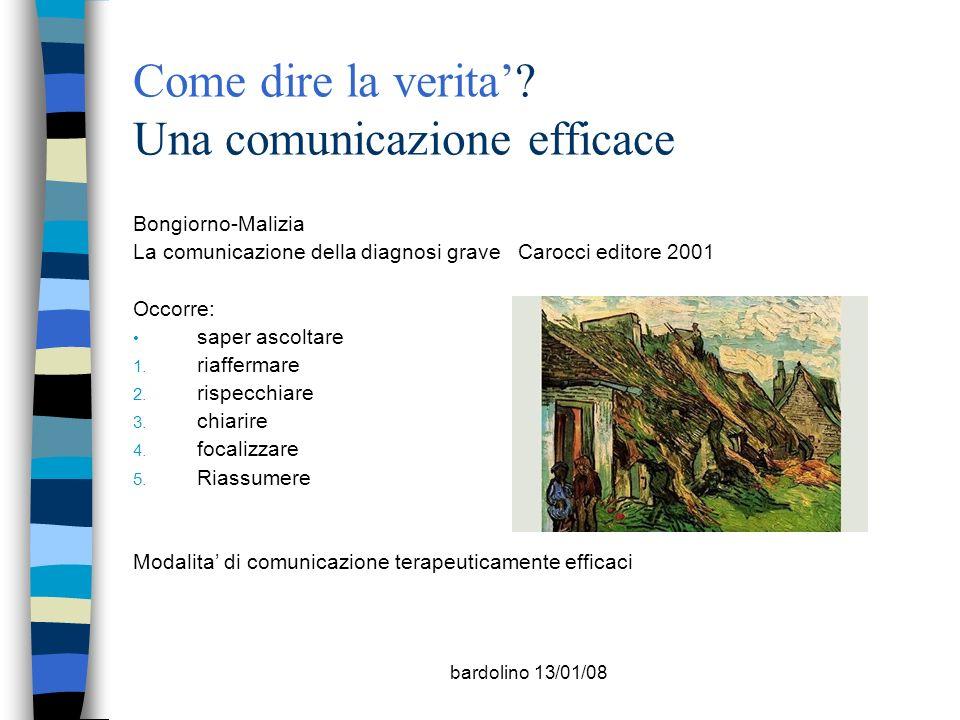 Come dire la verita' Una comunicazione efficace