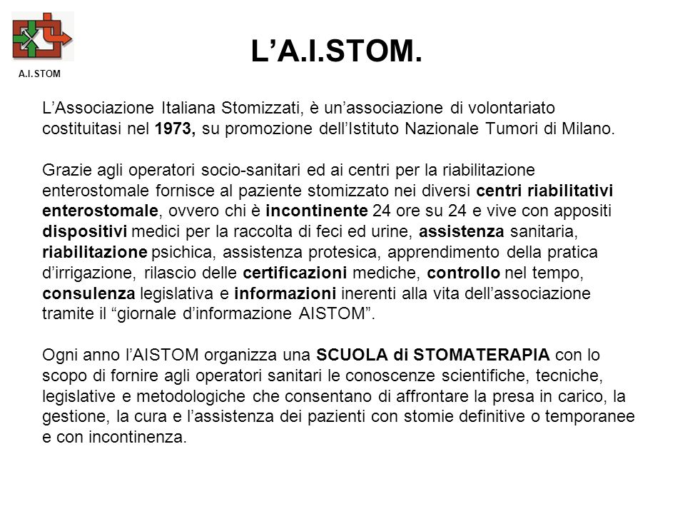 L'A.I.STOM. A.I.STOM.