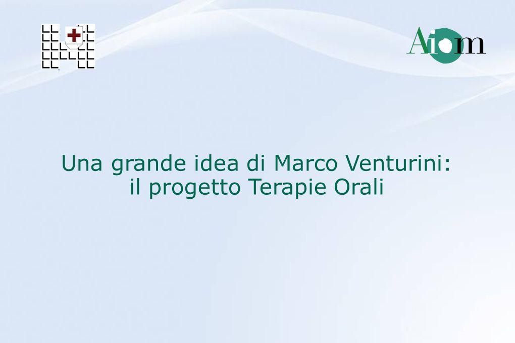 Una grande idea di Marco Venturini: il progetto Terapie Orali