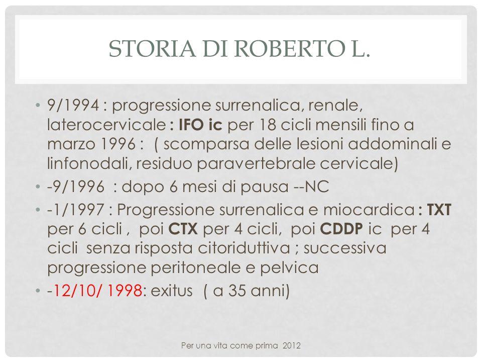 Storia di Roberto L.