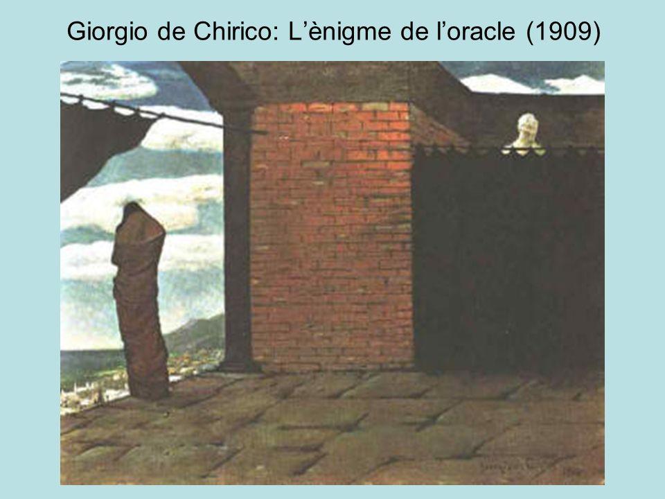 Giorgio de Chirico: L'ènigme de l'oracle (1909)