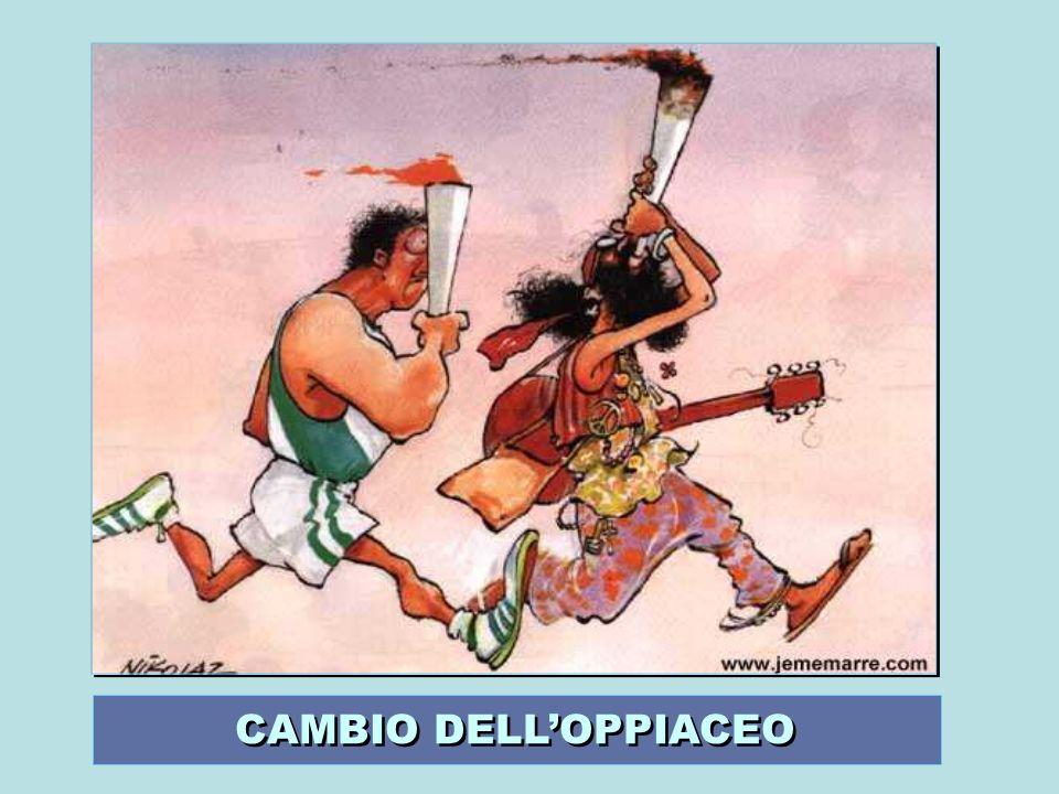 CAMBIO DELL'OPPIACEO