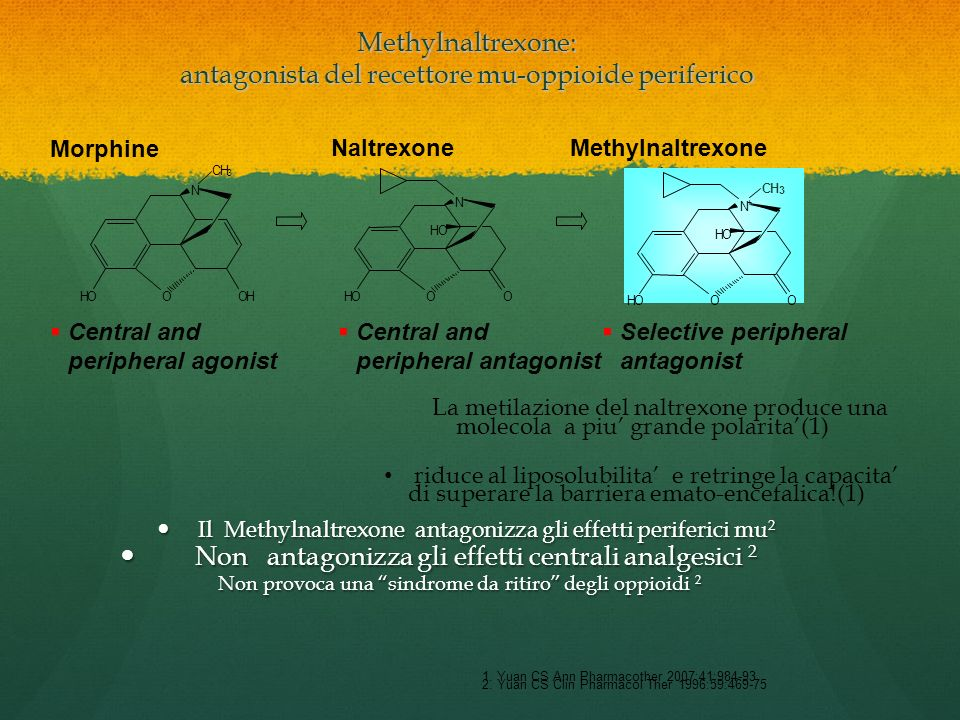 Methylnaltrexone: antagonista del recettore mu-oppioide periferico