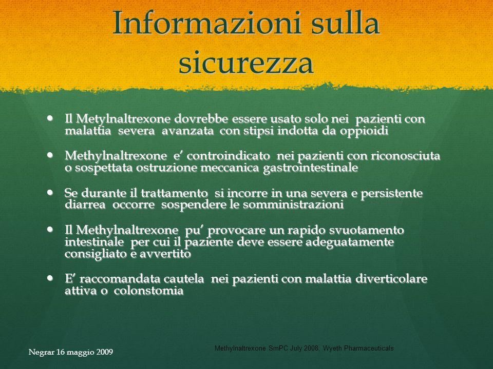 Informazioni sulla sicurezza