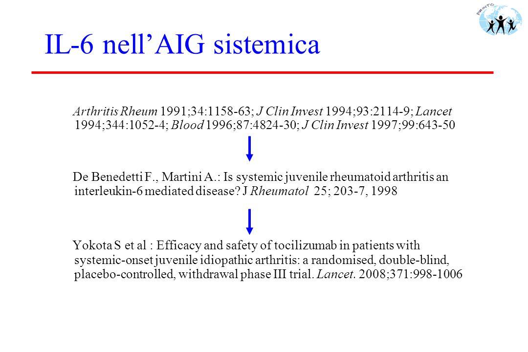 IL-6 nell'AIG sistemica