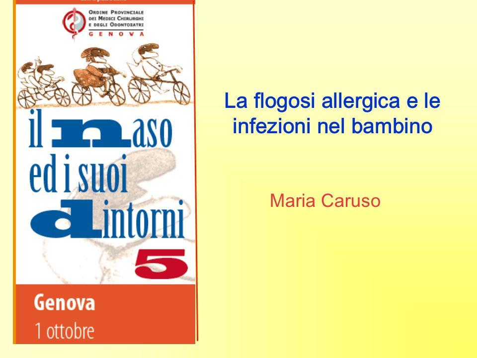 La flogosi allergica e le infezioni nel bambino