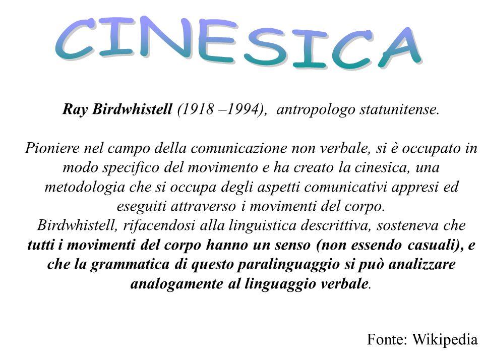 Ray Birdwhistell (1918 –1994), antropologo statunitense.
