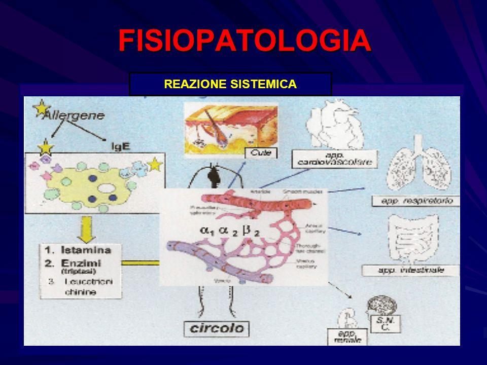 FISIOPATOLOGIA REAZIONE SISTEMICA