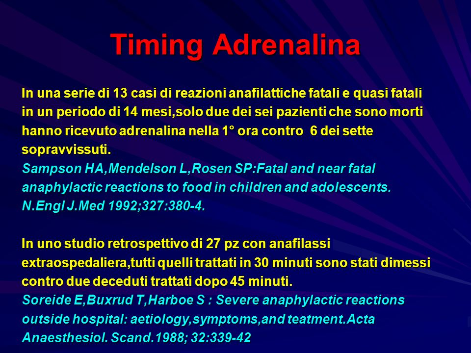 Timing Adrenalina