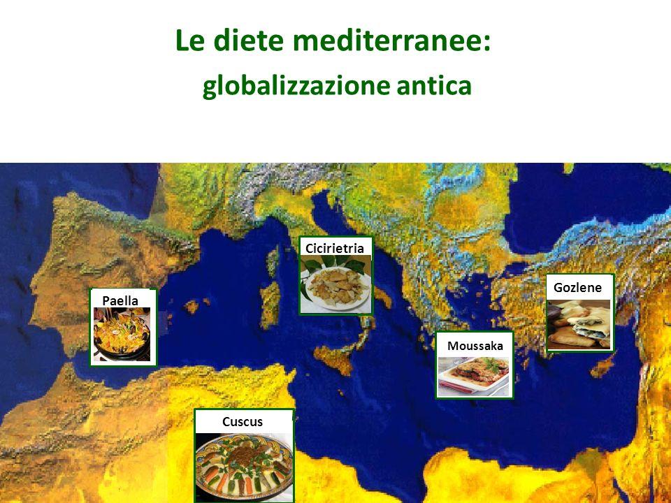 Le diete mediterranee: globalizzazione antica