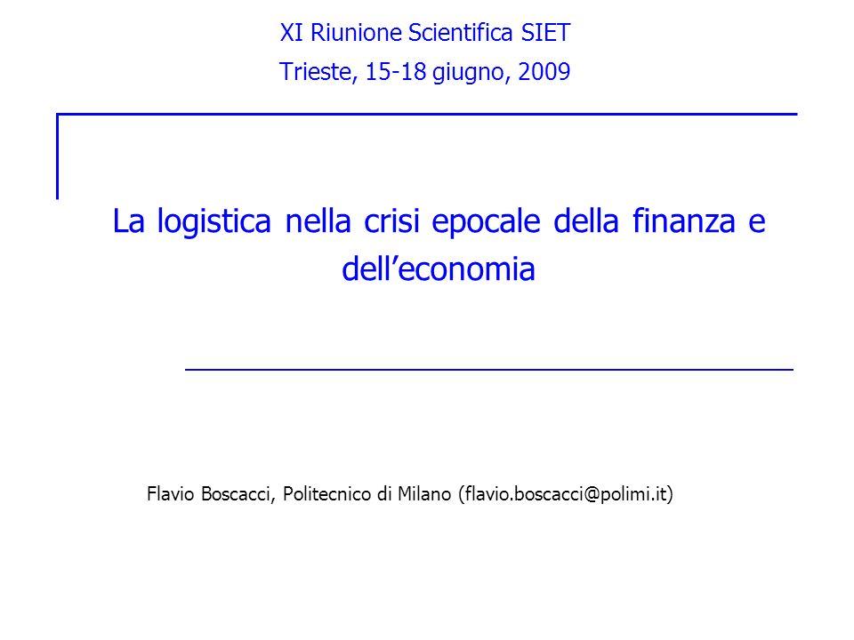 XI Riunione Scientifica SIET Trieste, 15-18 giugno, 2009