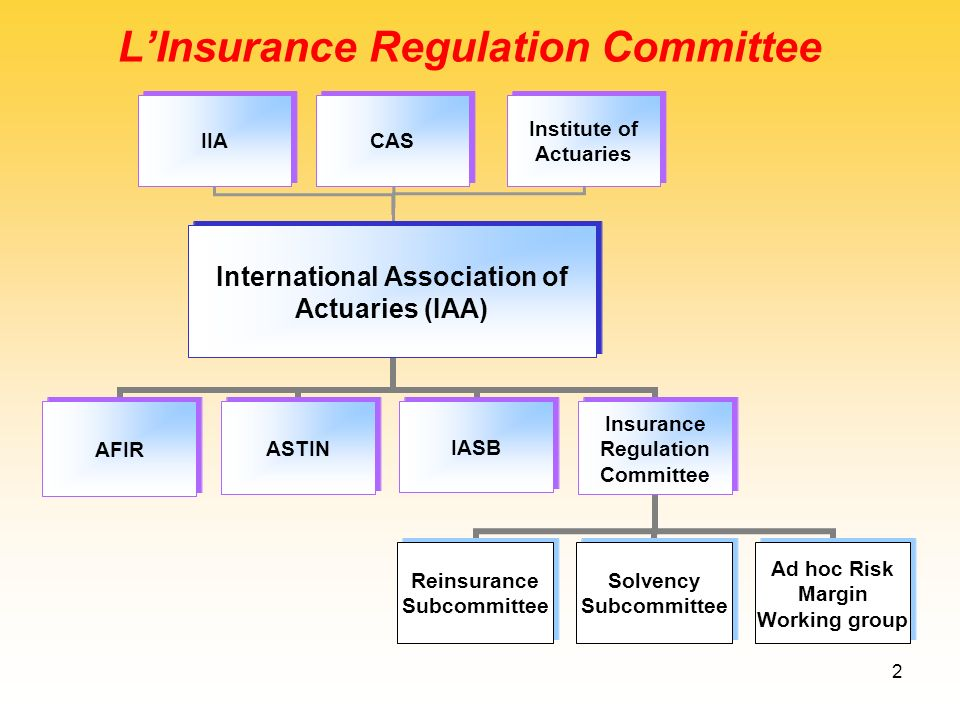 L'Insurance Regulation Committee