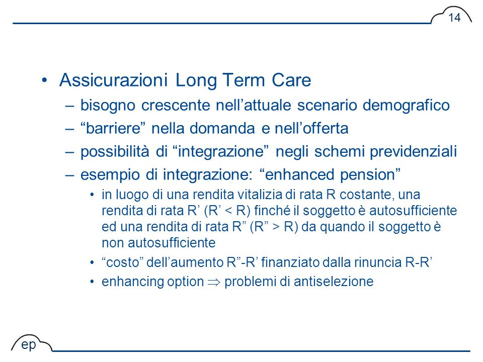 Assicurazioni Long Term Care