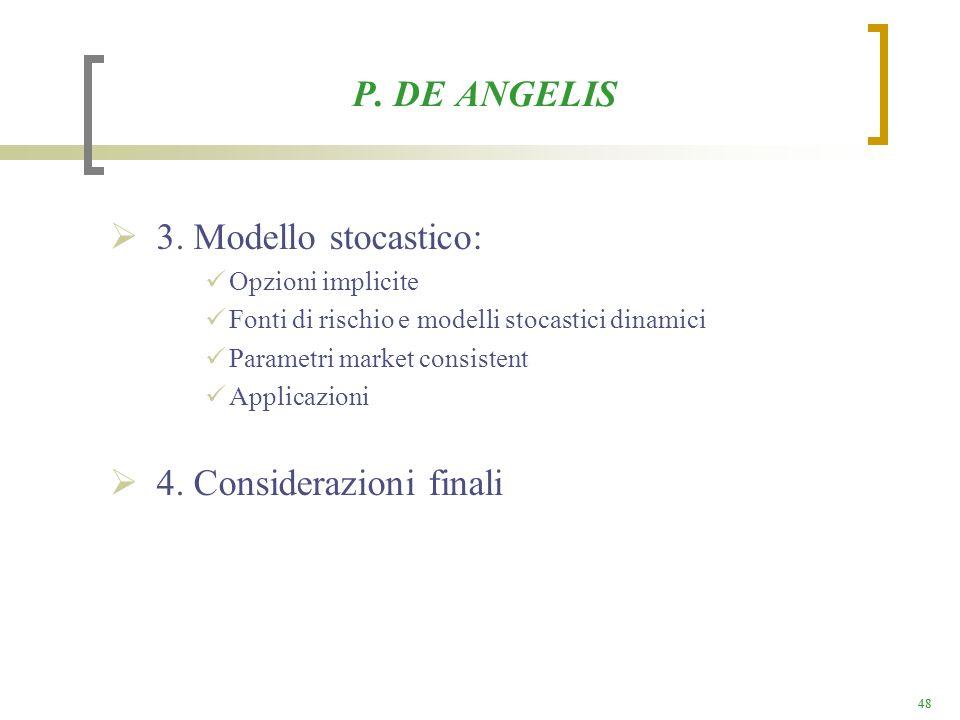 4. Considerazioni finali