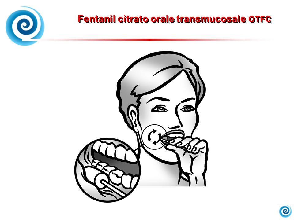 Fentanil citrato orale transmucosale OTFC