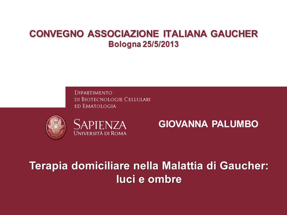 CONVEGNO ASSOCIAZIONE ITALIANA GAUCHER Bologna 25/5/2013