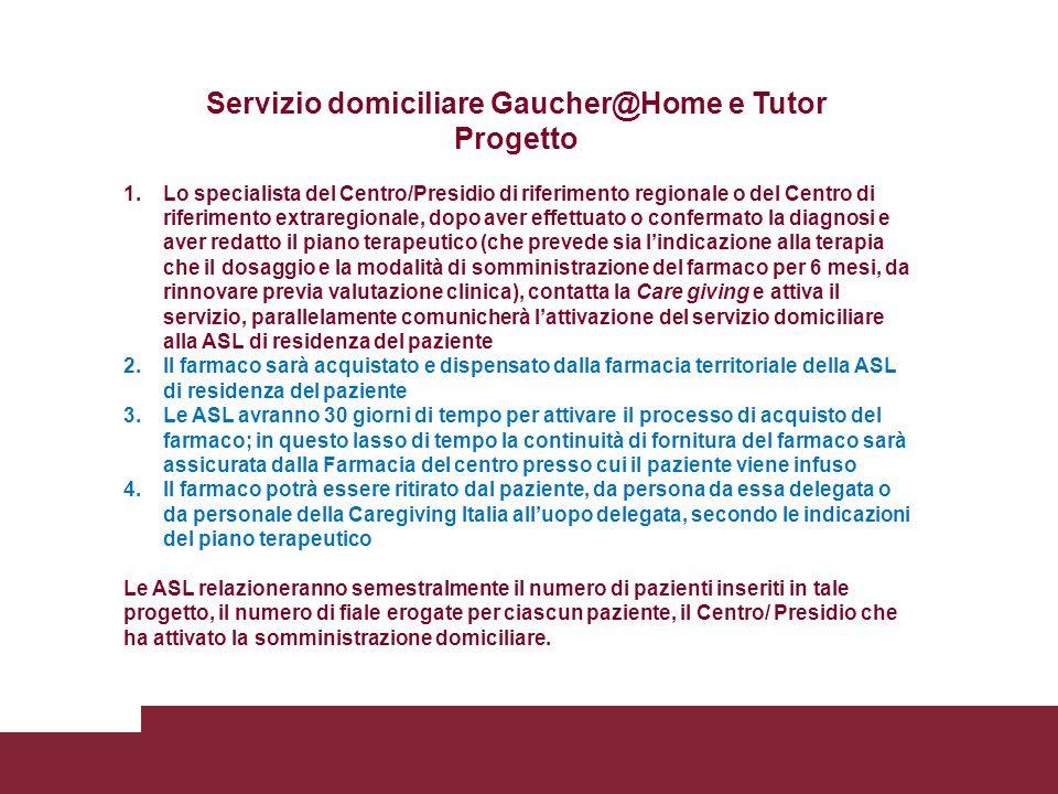 Servizio domiciliare Gaucher@Home e Tutor