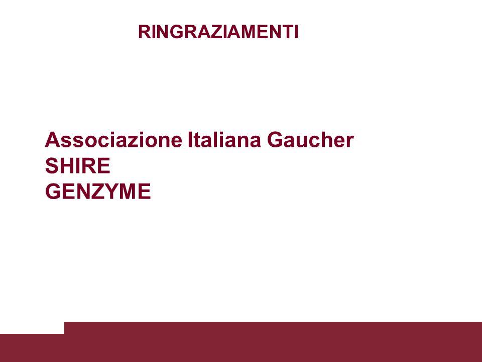 Associazione Italiana Gaucher SHIRE GENZYME