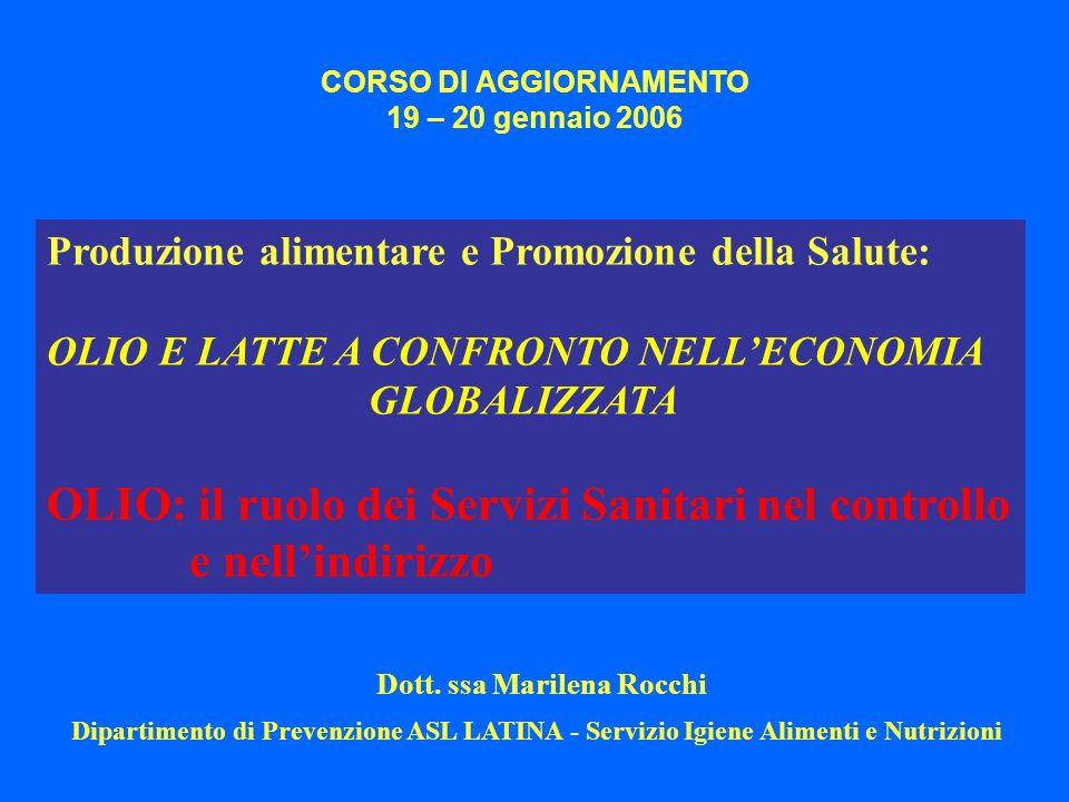 CORSO DI AGGIORNAMENTO 19 – 20 gennaio 2006