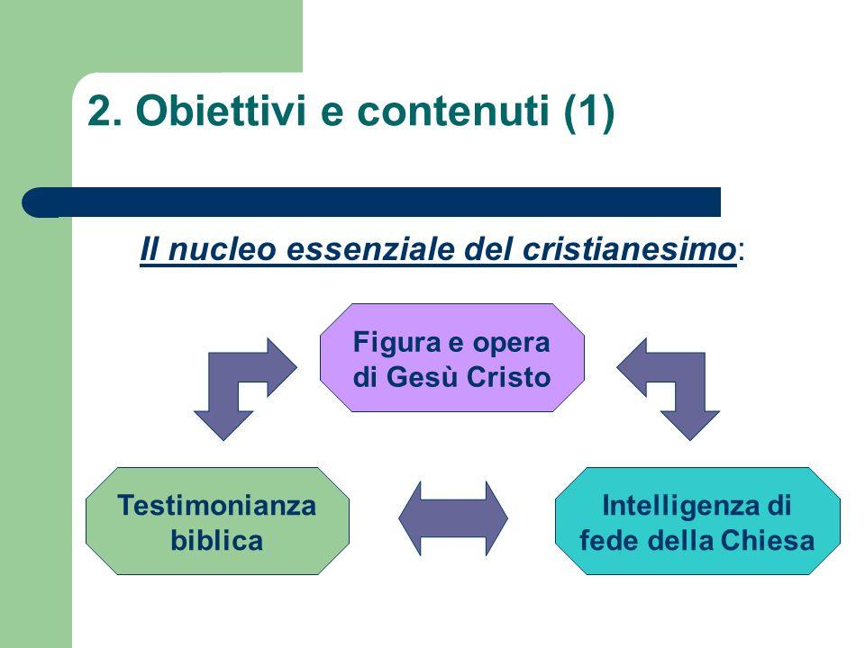 2. Obiettivi e contenuti (1)
