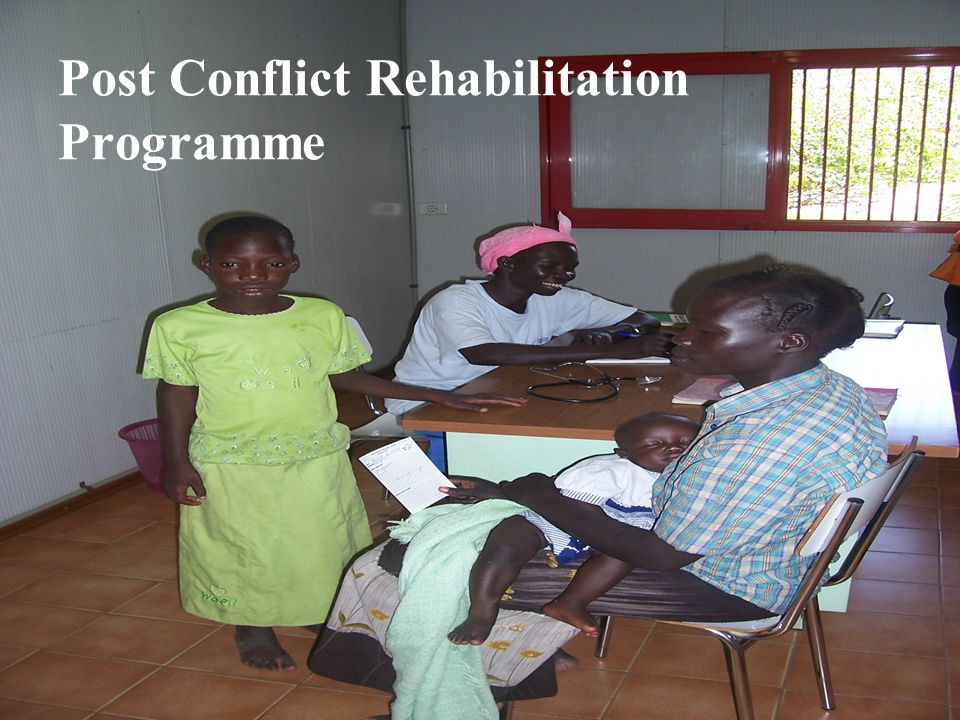 Post Conflict Rehabilitation Programme