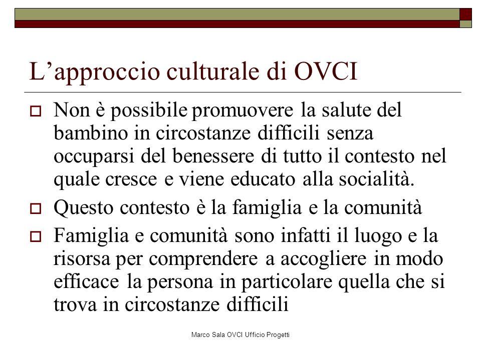 L'approccio culturale di OVCI