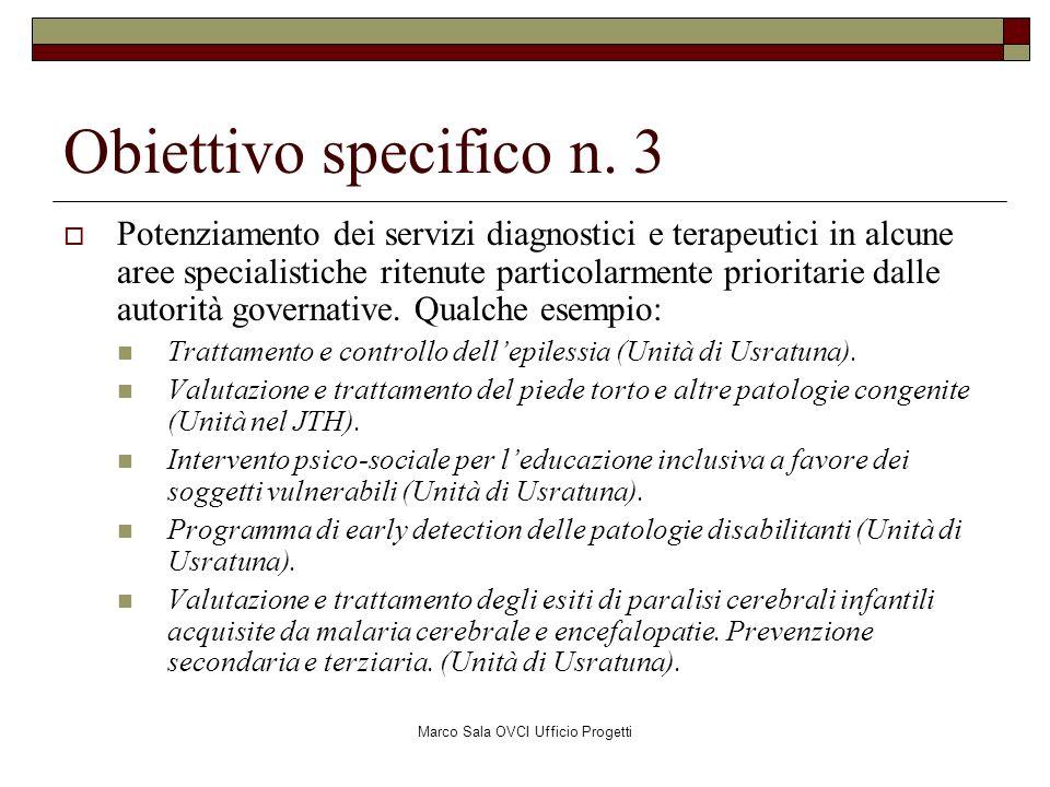 Marco Sala OVCI Ufficio Progetti