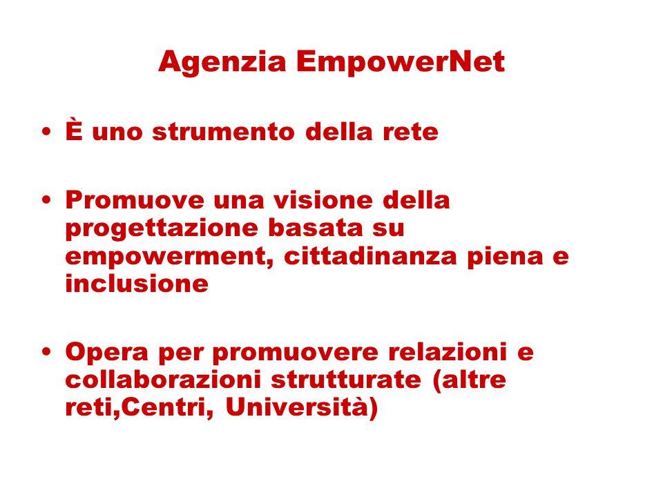 Agenzia EmpowerNet È uno strumento della rete