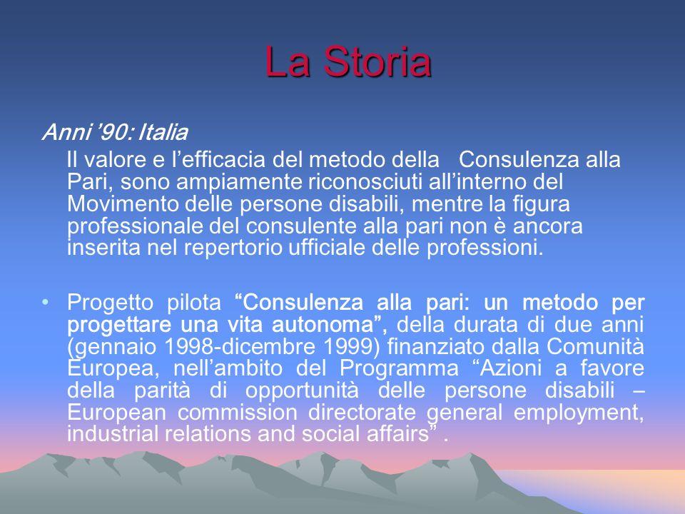 La Storia Anni '90: Italia