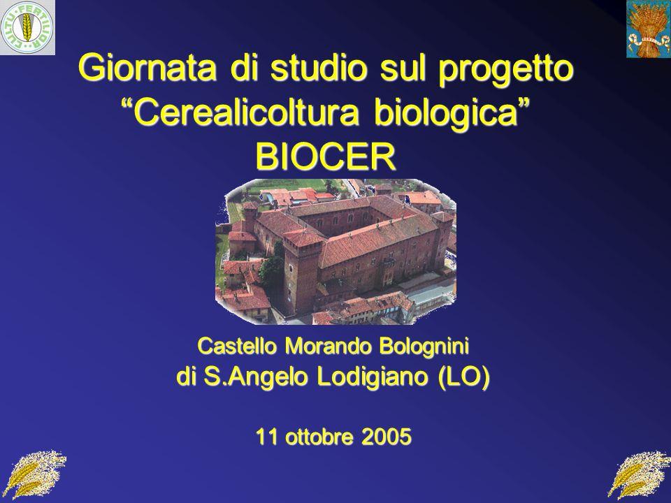 Giornata di studio sul progetto Cerealicoltura biologica BIOCER