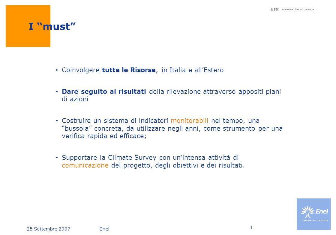 I must Coinvolgere tutte le Risorse, in Italia e all'Estero