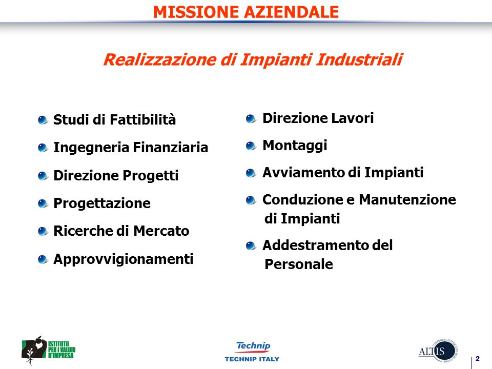 Realizzazione di Impianti Industriali