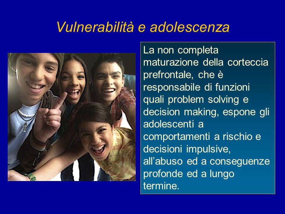 Vulnerabilità e adolescenza