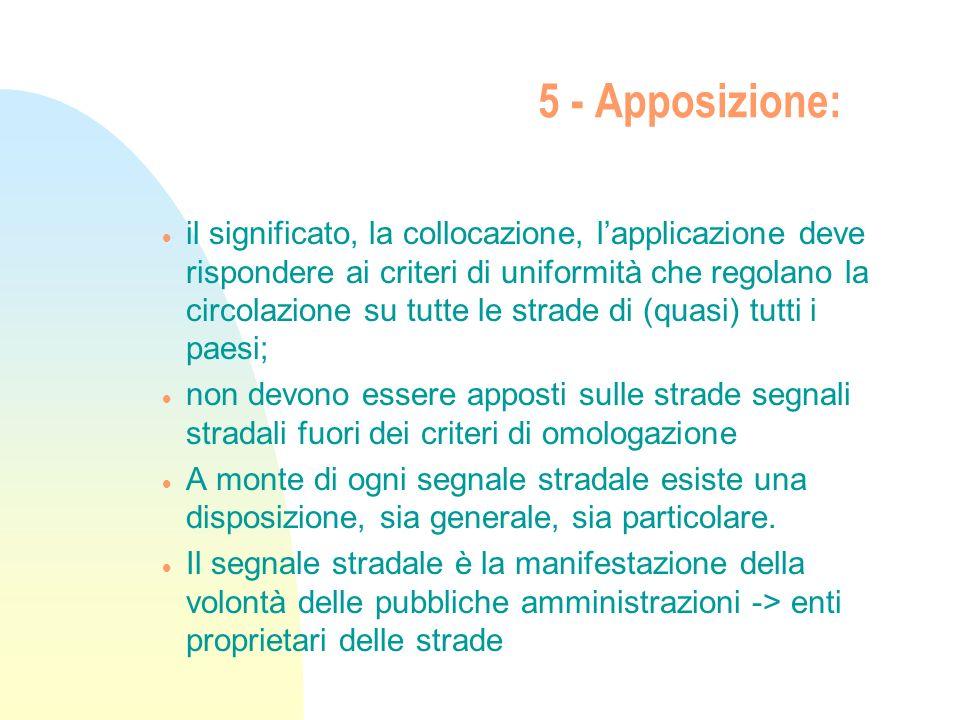 5 - Apposizione:
