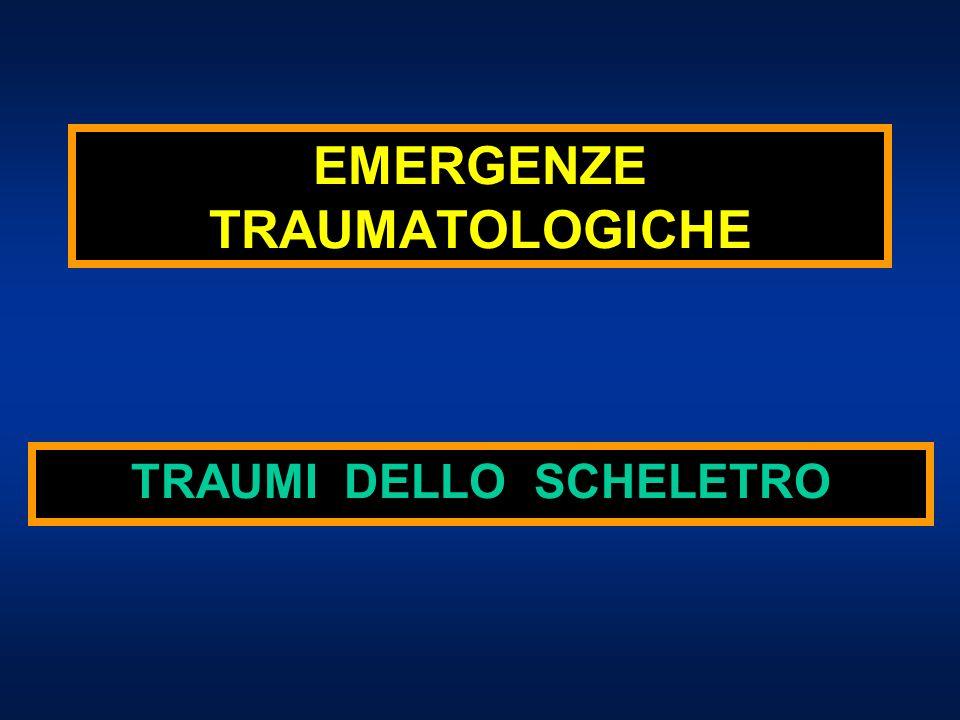 EMERGENZE TRAUMATOLOGICHE