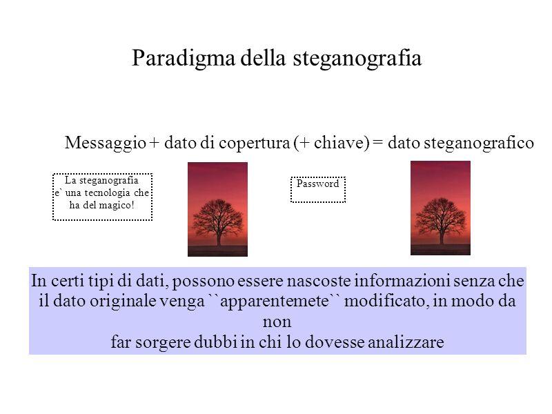 Paradigma della steganografia